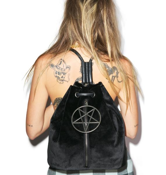 Velvet Legend Pentagram Backpack