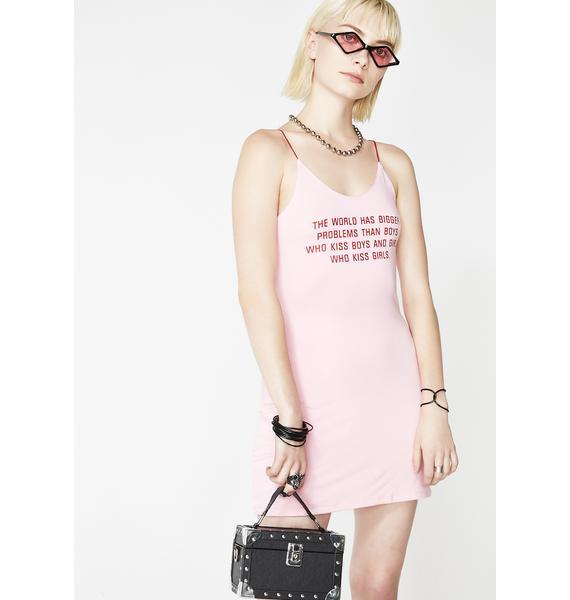 O Mighty Love is Love Mini Dress