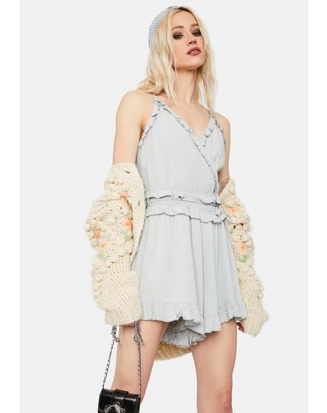 I'm Still Into You Ruffled Romper