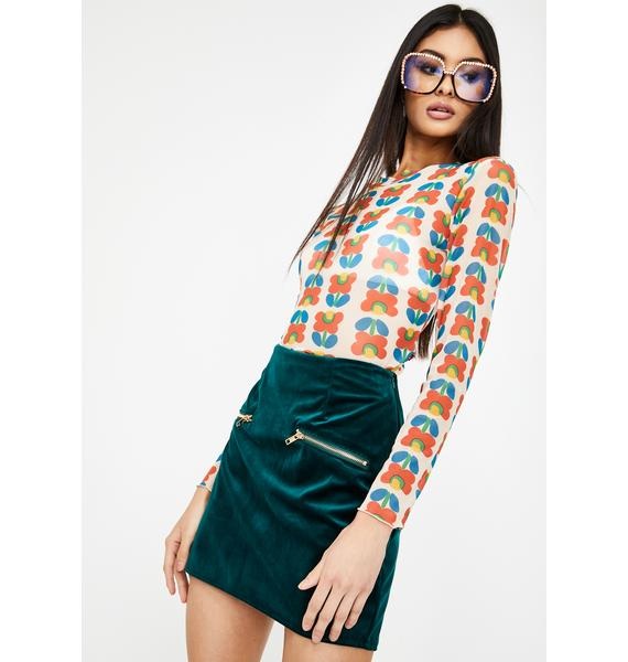 Lira Clothing Jade Molli Mini Skirt