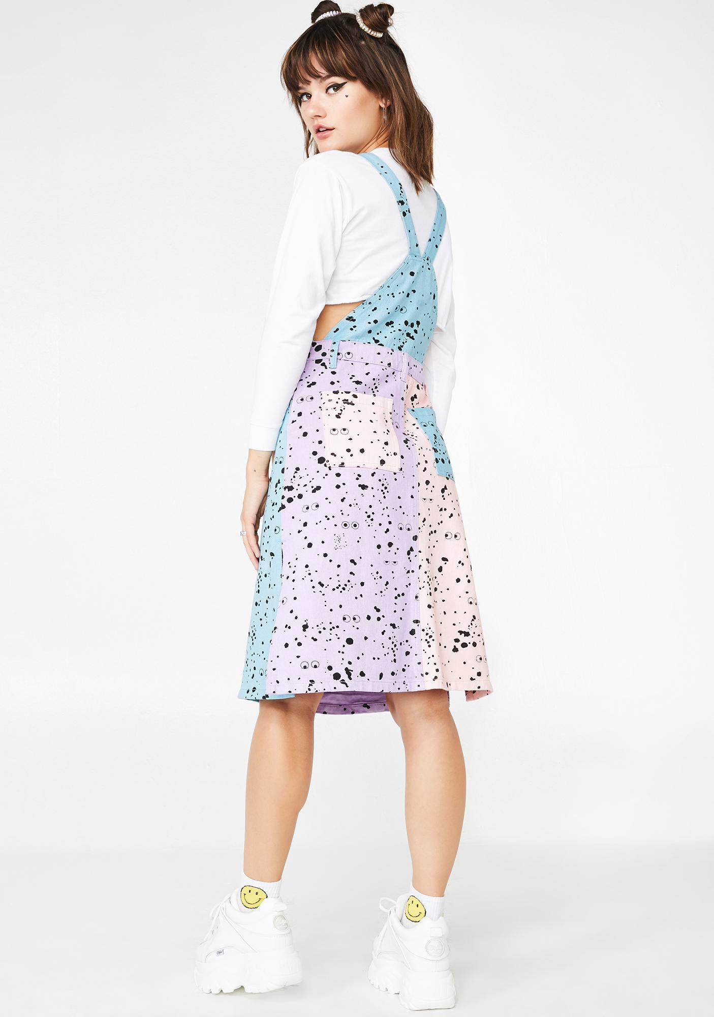 Lazy Oaf x Studio Arhoj Pinafore Dress