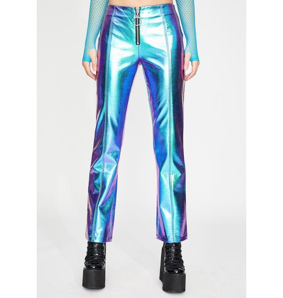 Club Exx Icy Invaders Metallic Pants