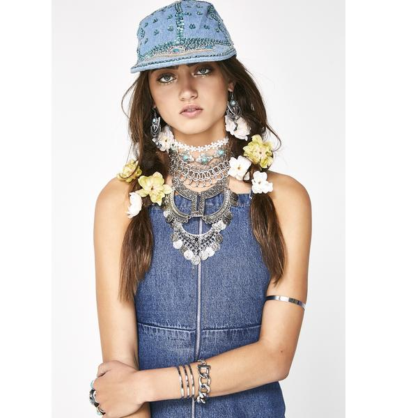 Miss-Be-Ravin' Sequin Hat
