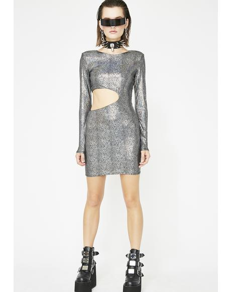 Cosmic Spirit Mini Dress