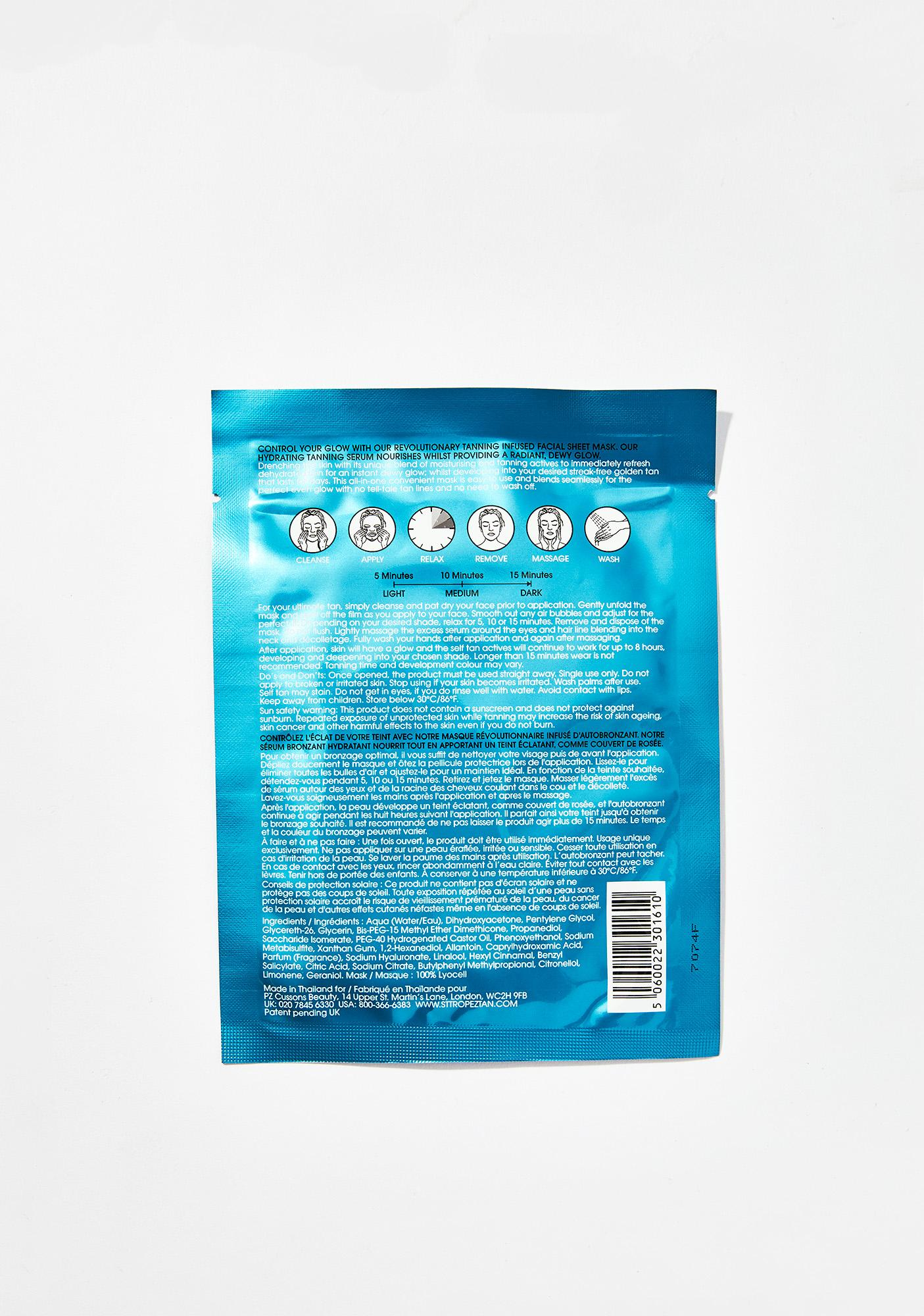 St. Tropez Self Tan Express Sheet Mask