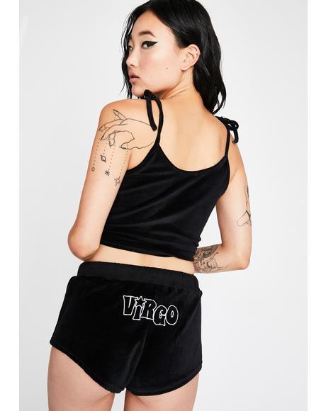 Virgo AF PJ Shorts