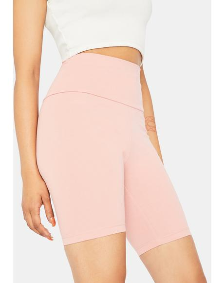 Blush Midnight Rocker Biker Short