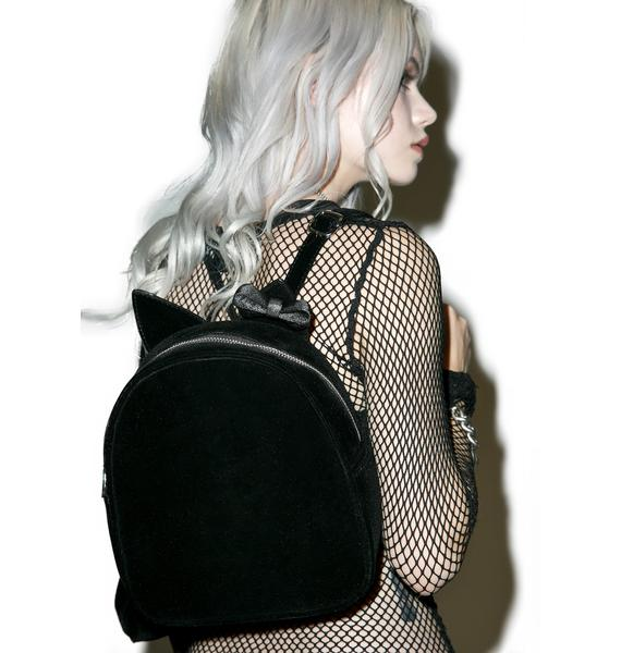 Sugar Thrillz Midnight Menagerie Convertible Backpack
