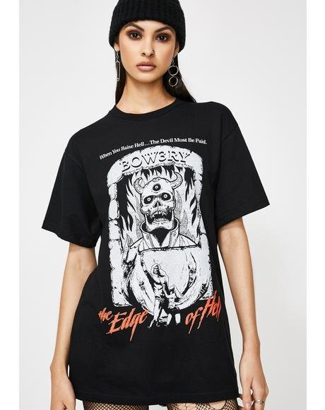 Edge Of Hell Graphic Tee