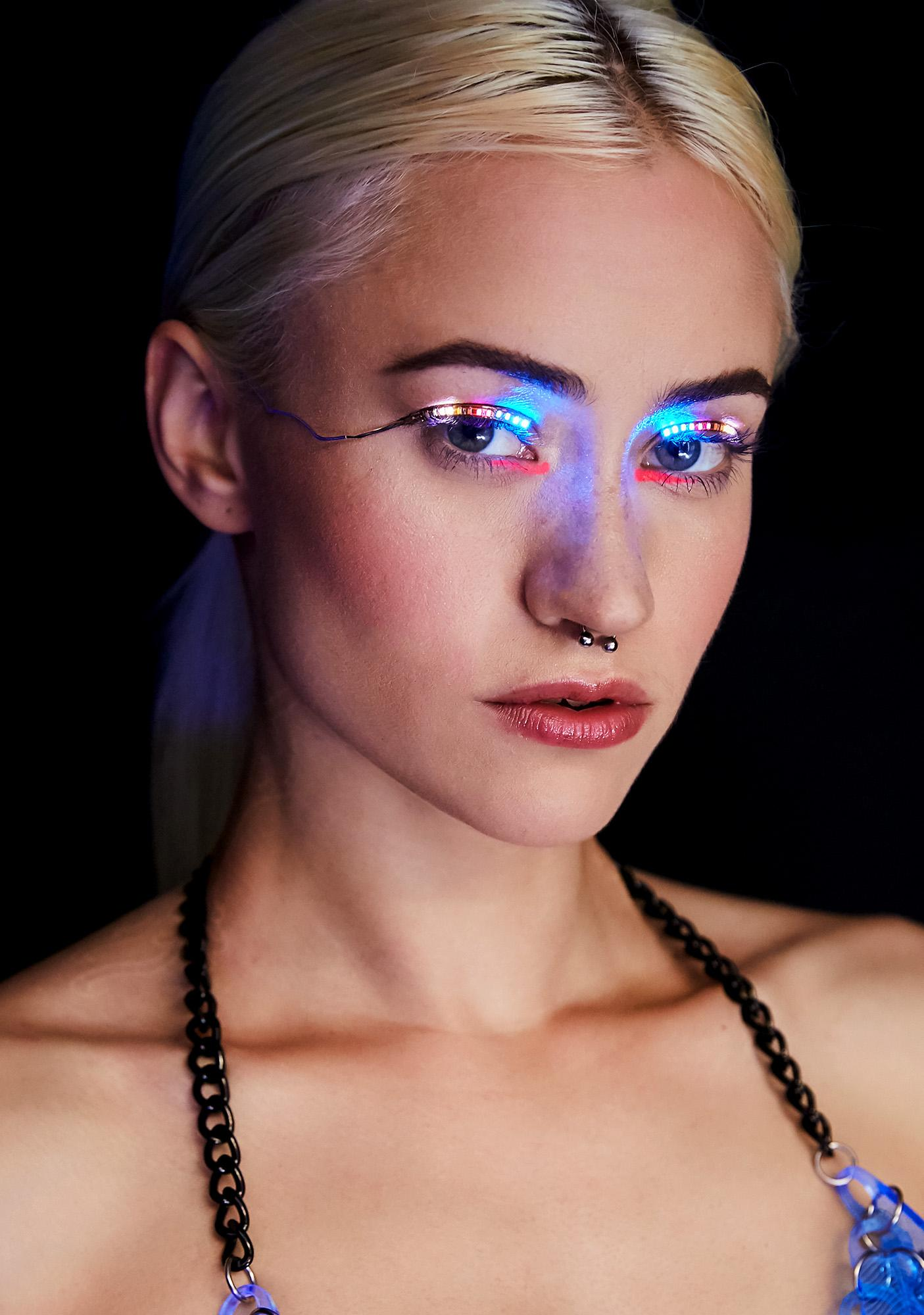 Rainbow Lit Vision LED Lashes