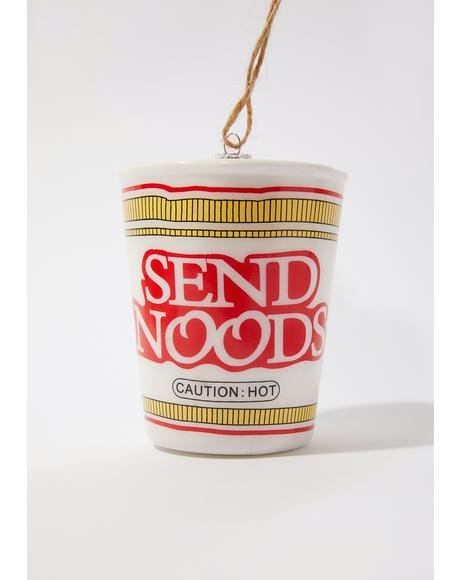 Ramen Noodles Ornament