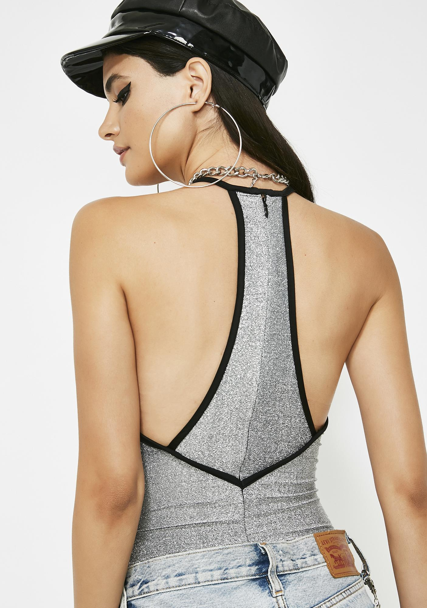 Baby Don't Cry Shimmer Bodysuit