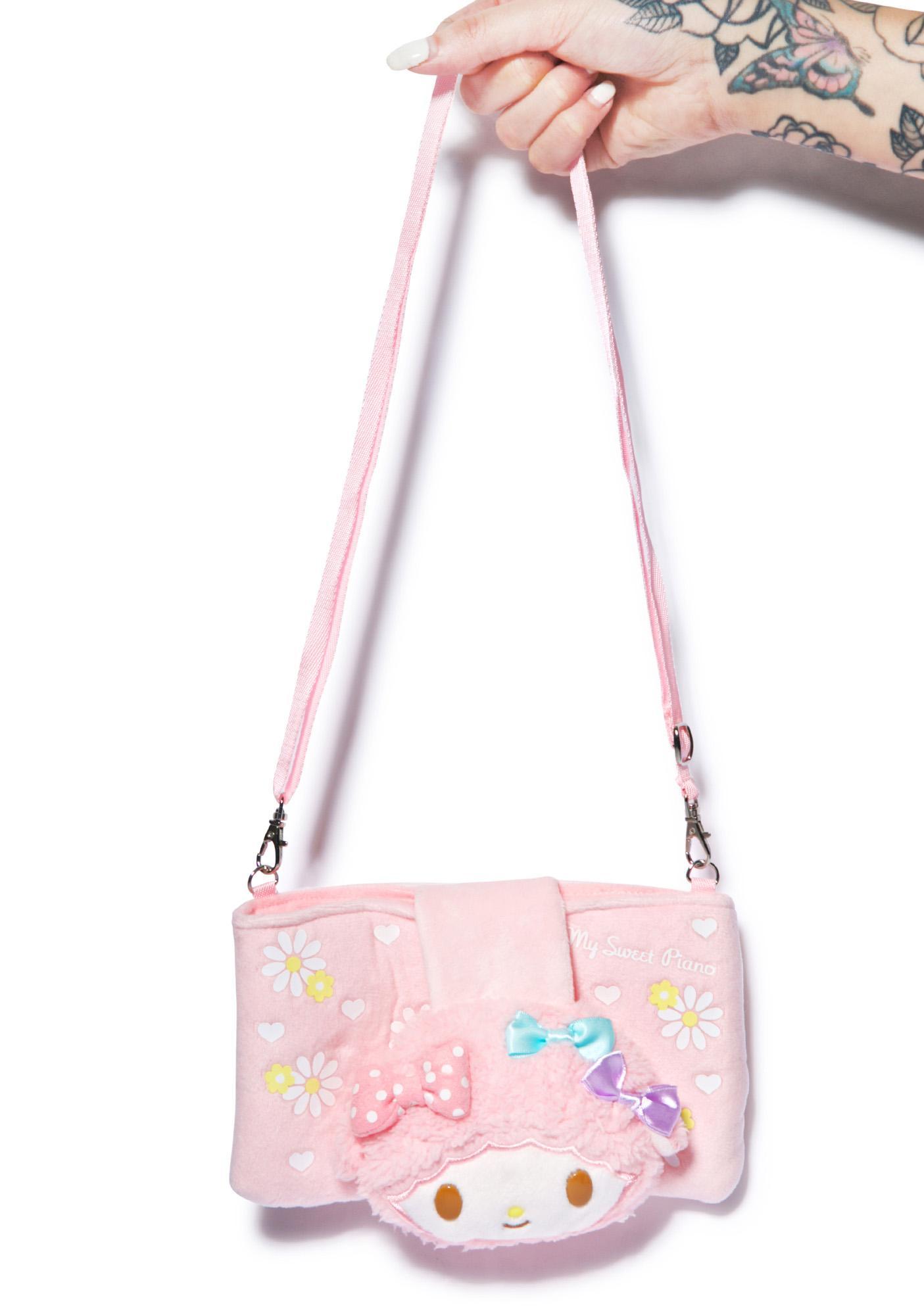 Sanrio Sweet Piano Plush Bag
