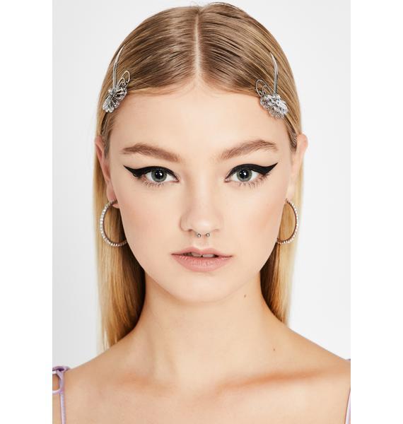 Winged Wonder Hair Pins