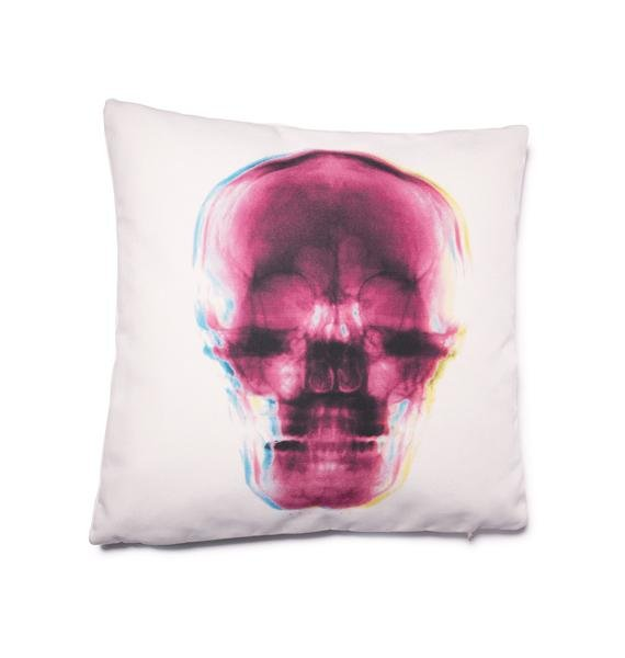 Gimme Some Skull X-Ray Pillow