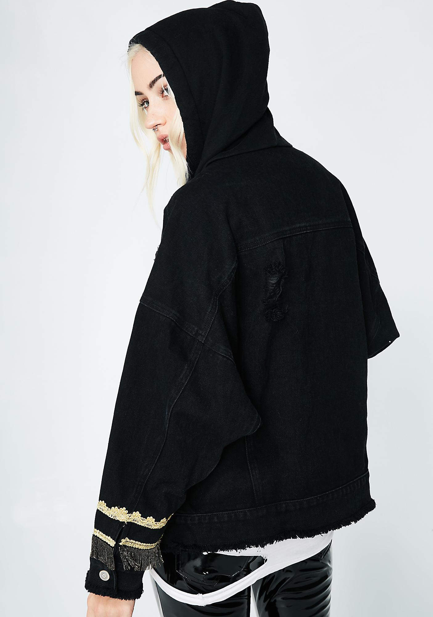 Too Good 4 U Hooded Jacket