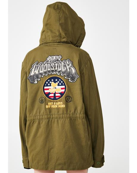 Woodstock Objector M65 Military Jacket