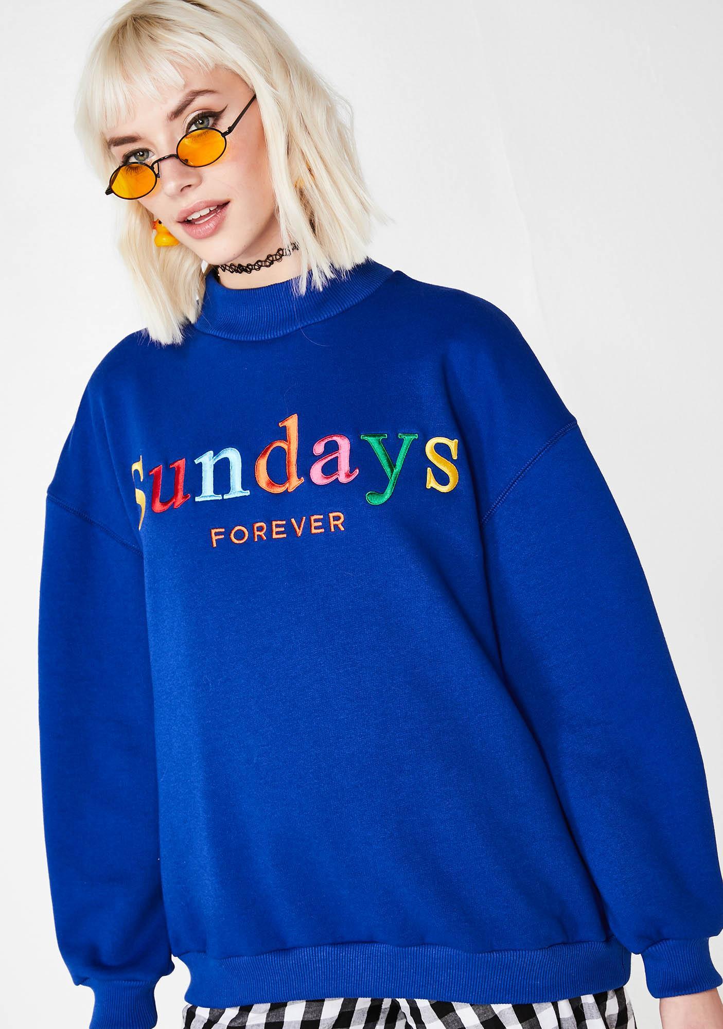 Minga Sundays Forever High Neck Sweater