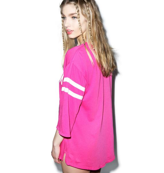 Wildfox Couture Powder Puff Jersey Tunic