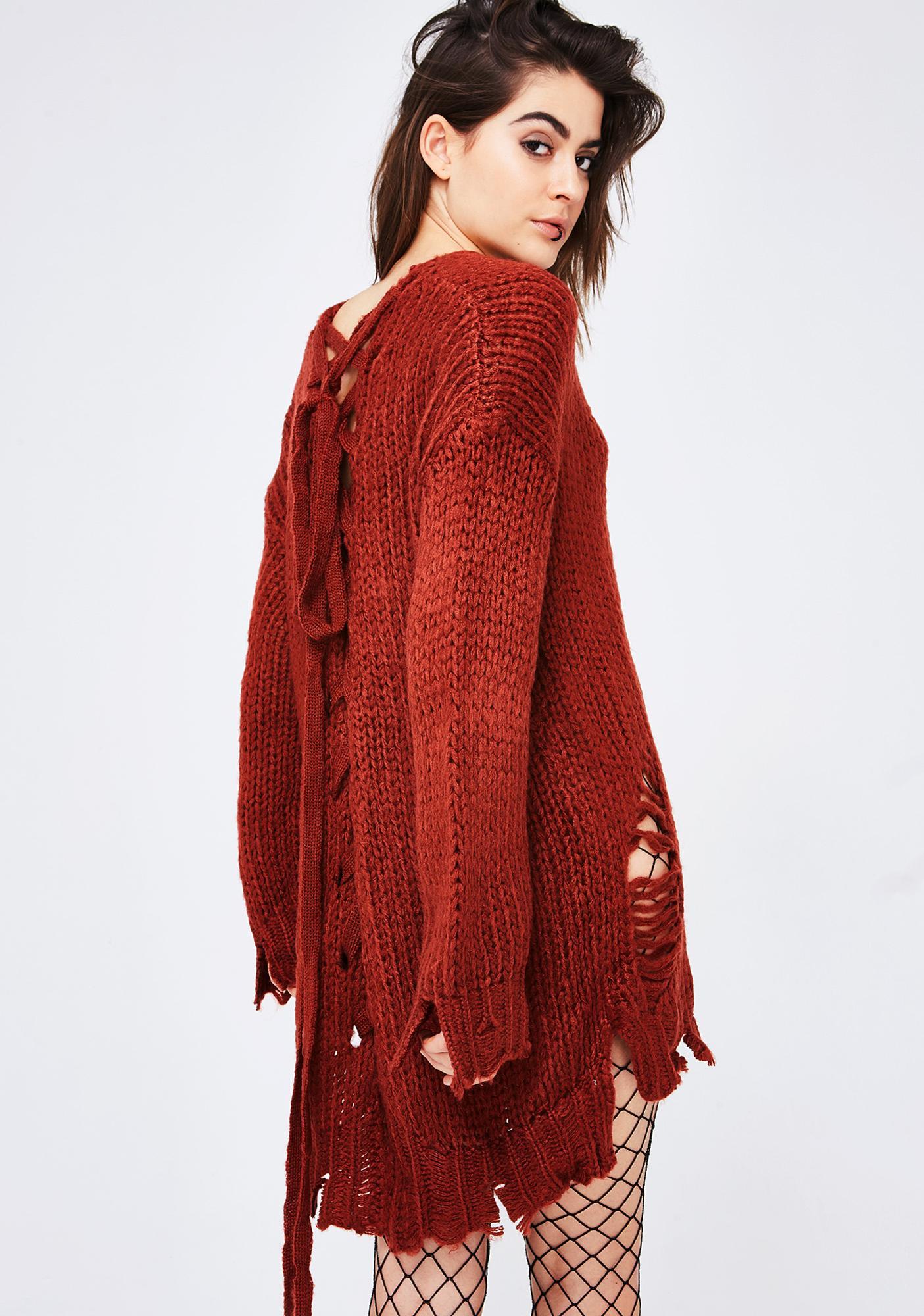 Start Over Sweater Dress