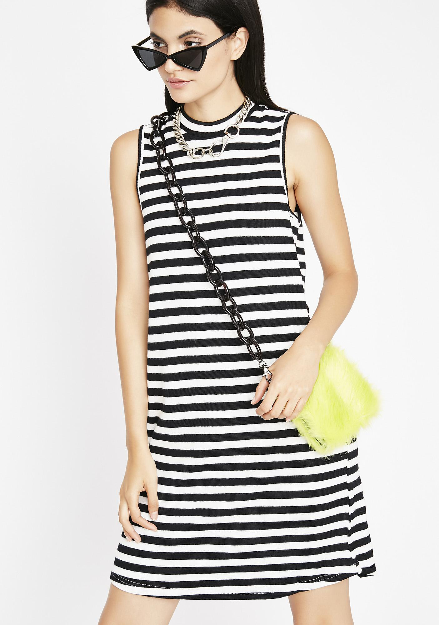 Going Mad Stripe Dress