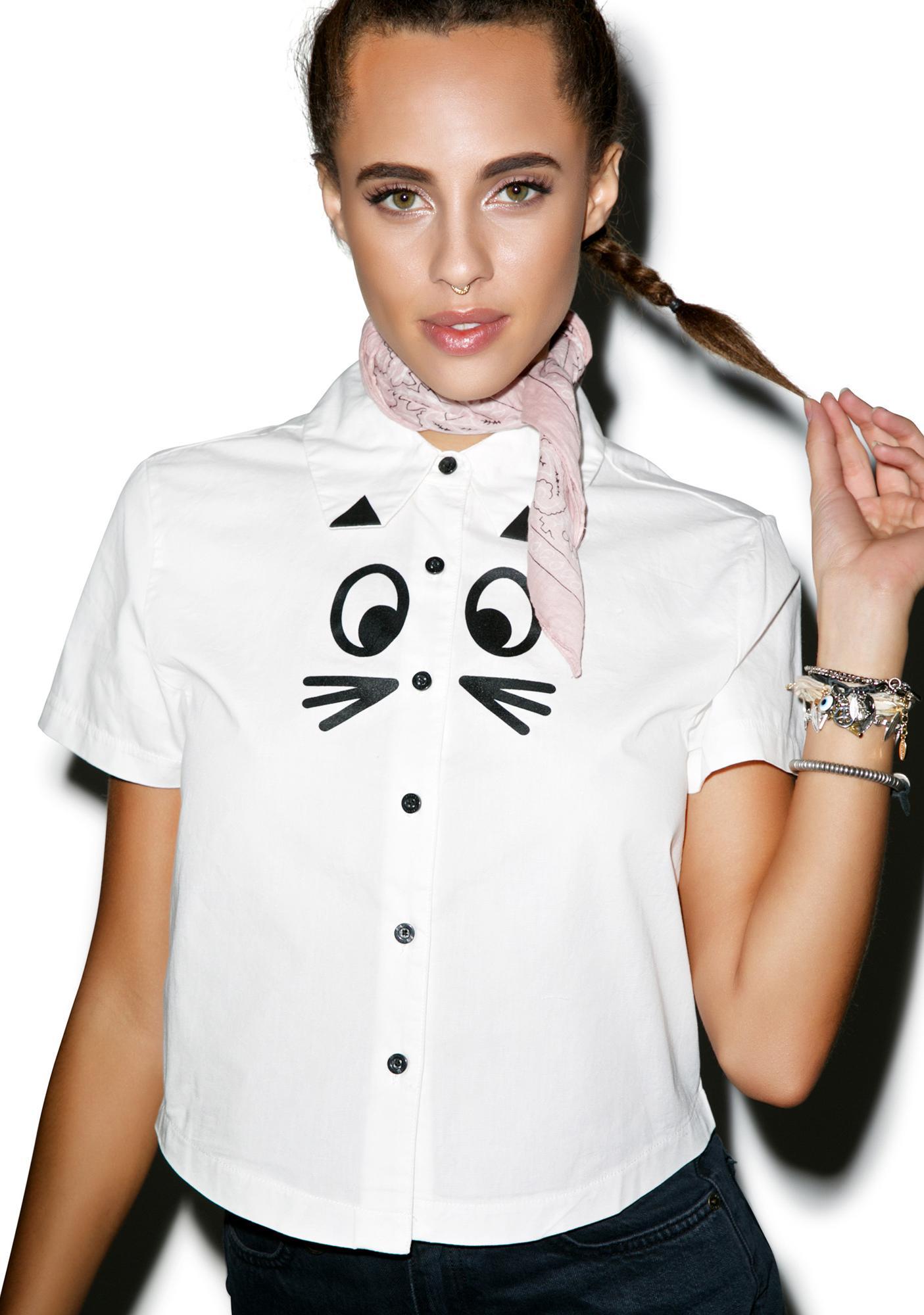 Lazy Oaf Cat Shirt