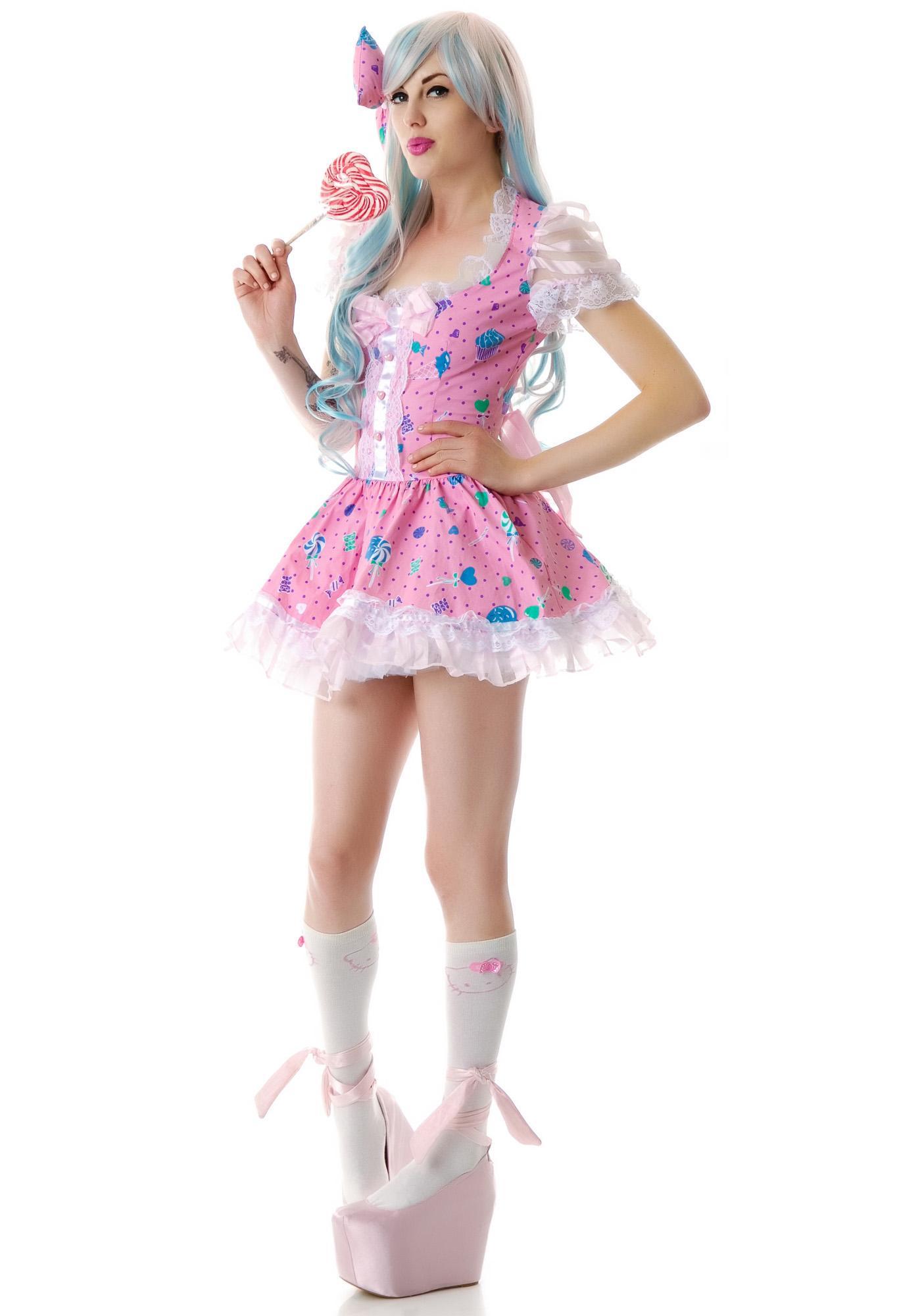 Lip Service Candy Lolita Dress