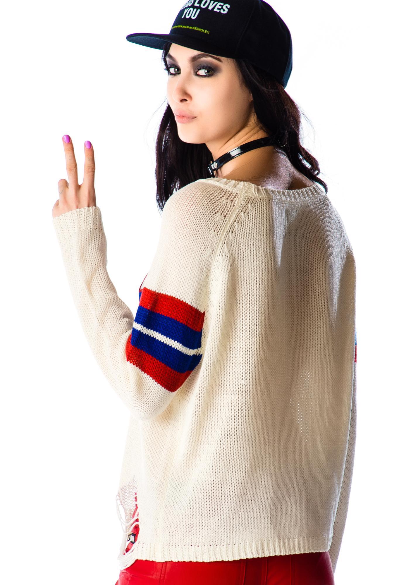 UNIF Varsix Sweater