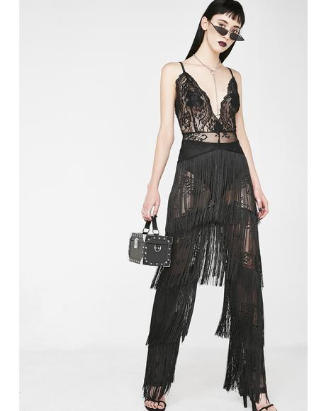 Making Waves Fringe Jumpsuit