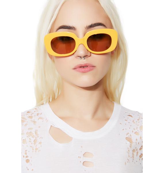Crap Eyewear The Cobra Snake Velvet Mirror Sunglasses