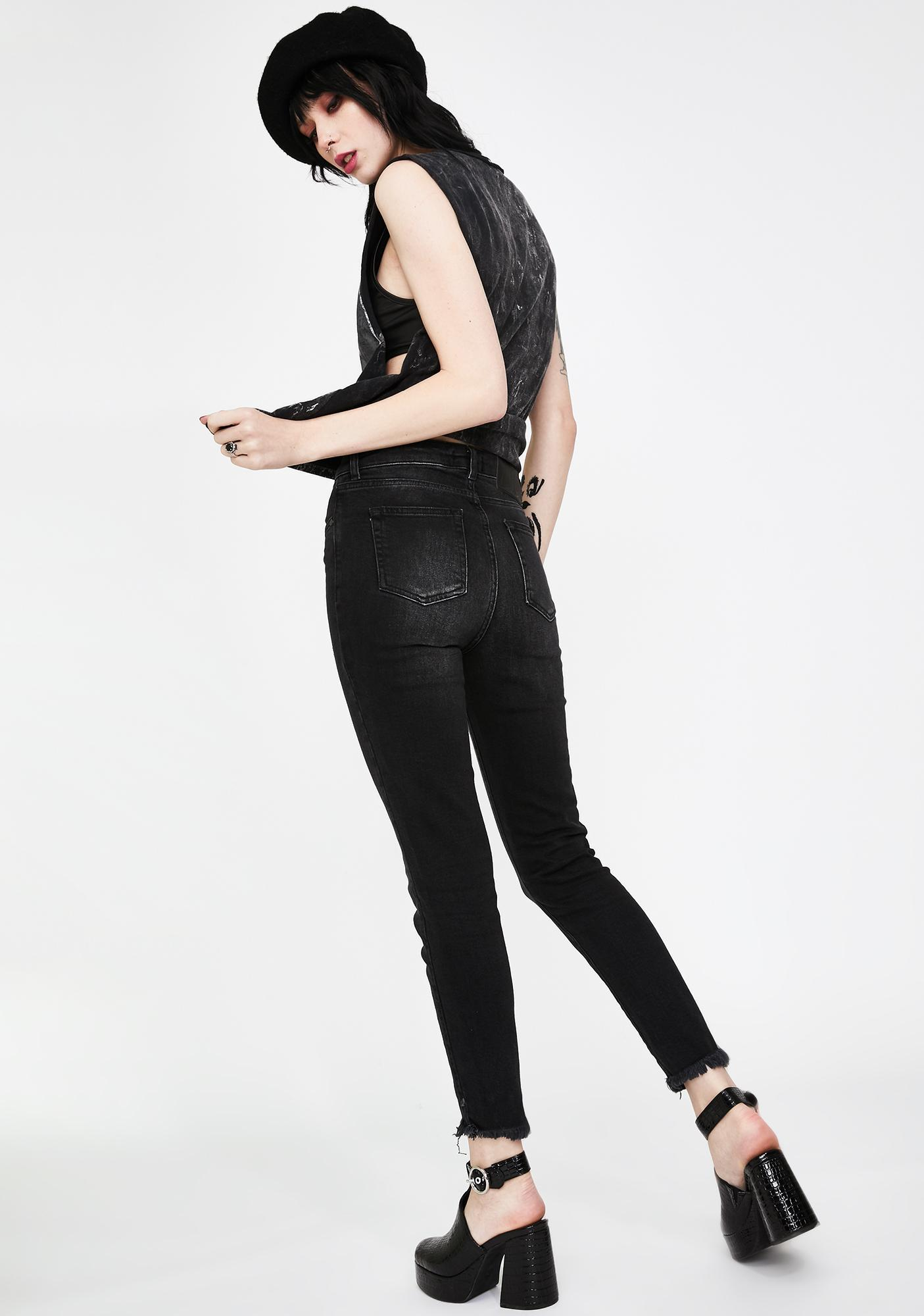 Disturbia Stay Away Denim Jeans