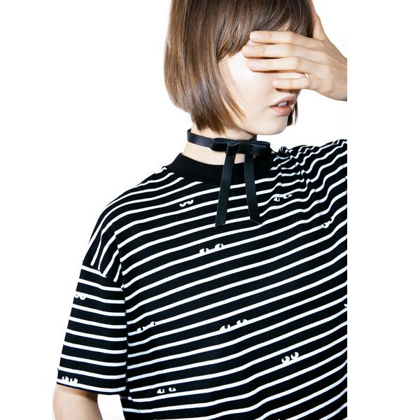 Lazy Oaf Peeping Eyes T-Shirt