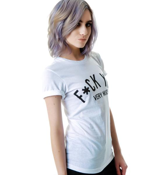 HLZBLZ  x Belle of the Brawl Very Much Tee