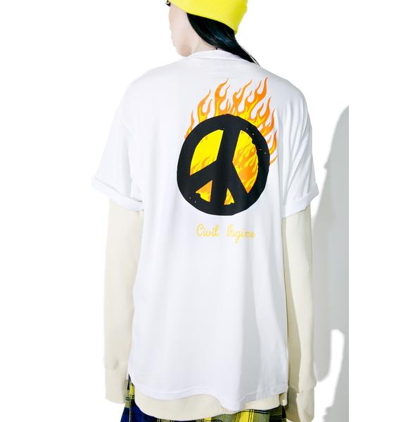 Civil Clothing War Called Peace Tee