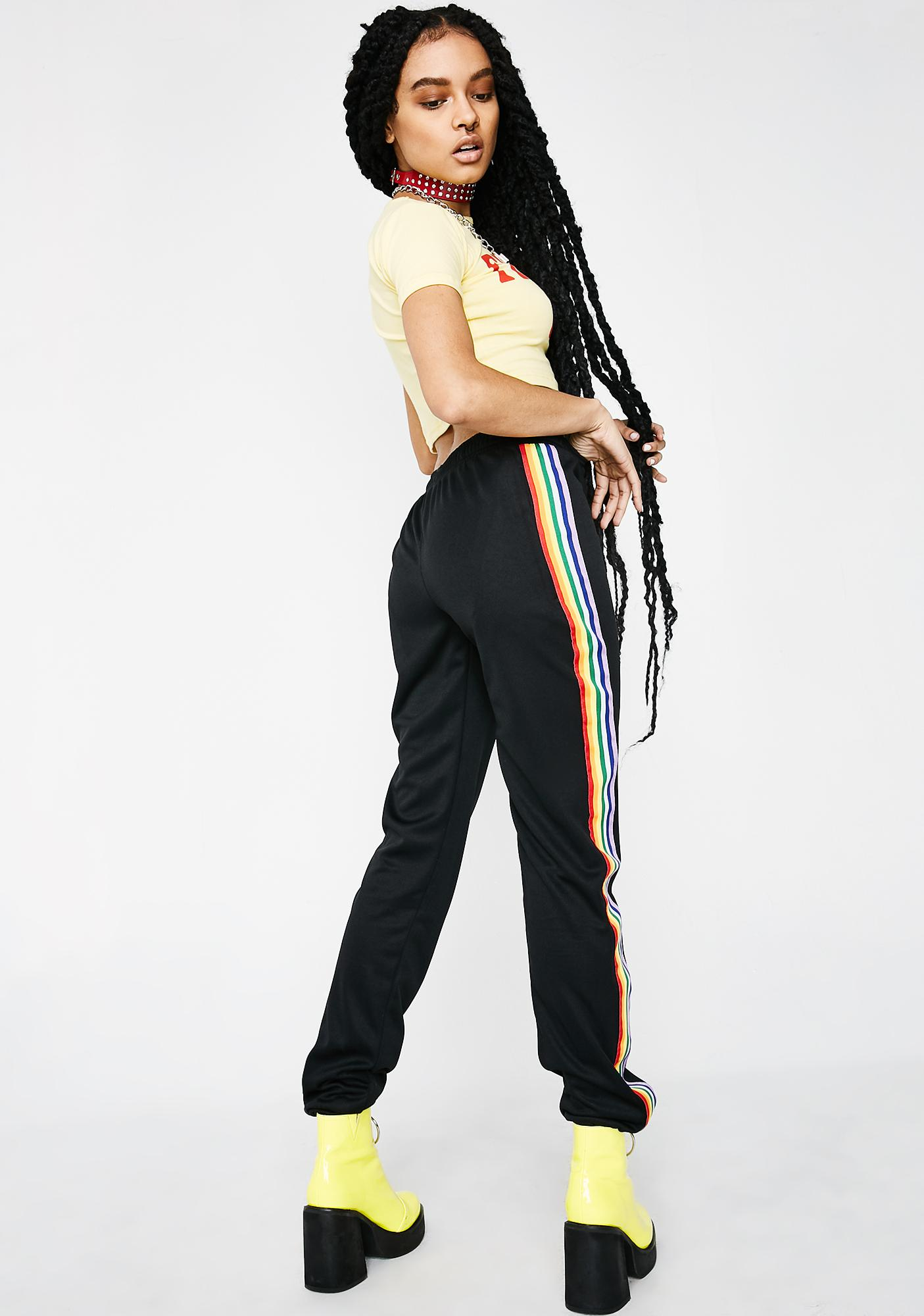 Walkin' On A Rainbow Track Pants