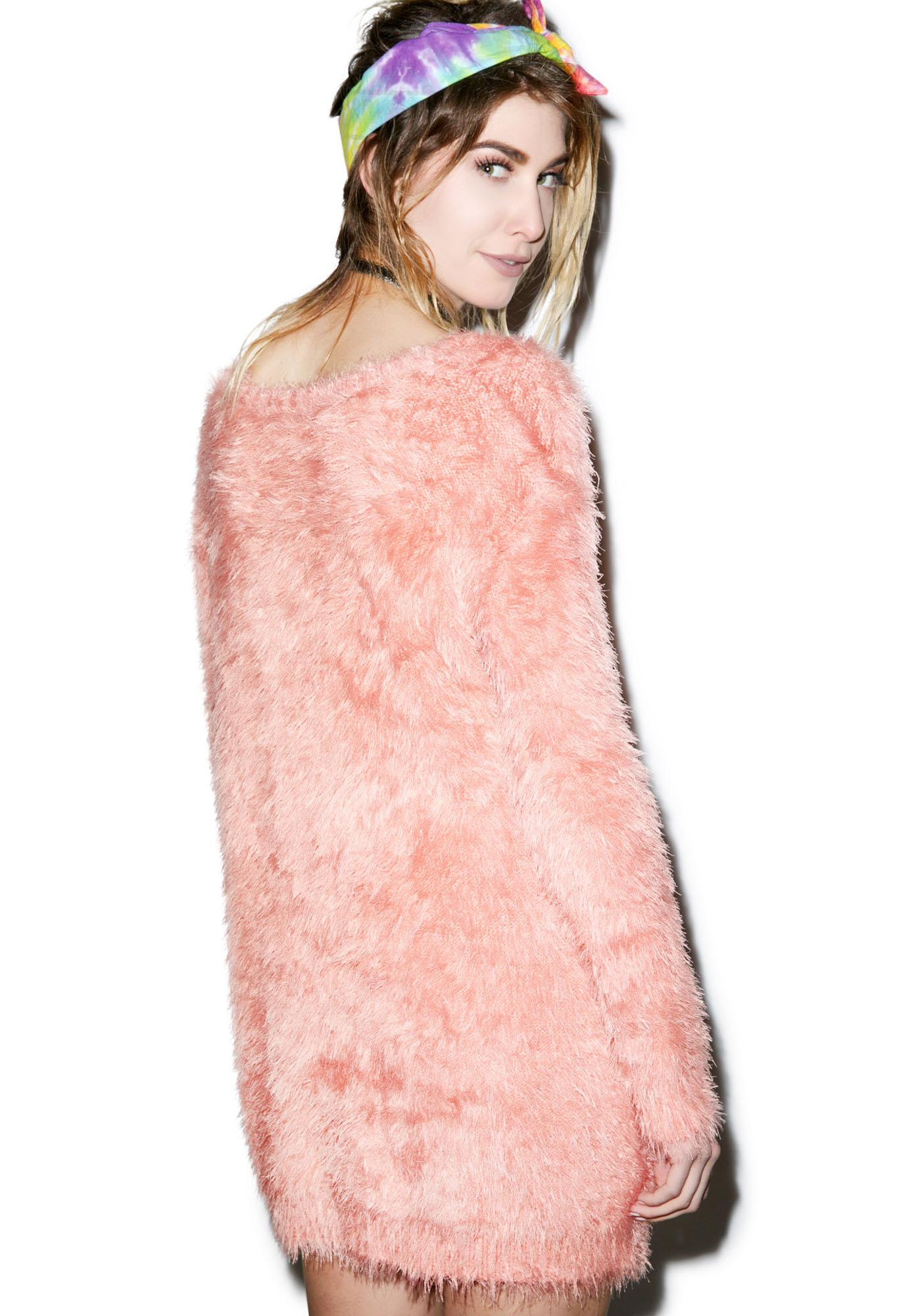 19a2b3072f0 ... Somedays Lovin Roadside Fluffy Jumper Dress