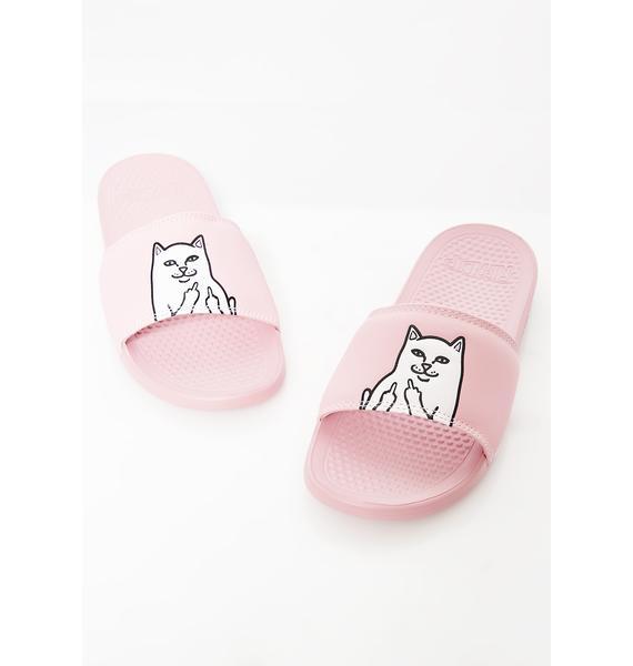 RIPNDIP Pink Lord Nermal Slides