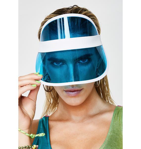 Aqua Throw Shade Visor