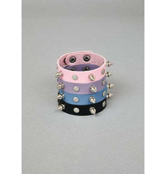 Pretty Possession Spiked Bracelets