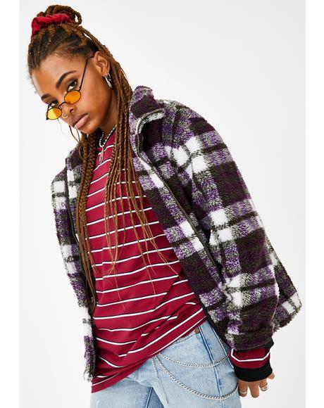 Blazed N' Confused Sherpa Jacket