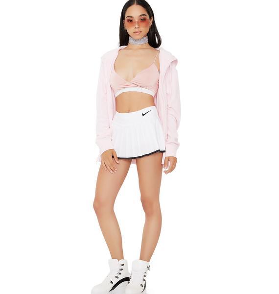 JUICY COUTURE Blush Beachwood Velour Jacket