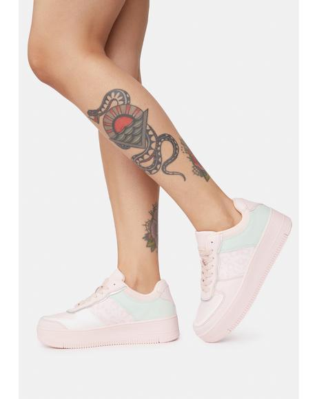 Make It Real Platform Sneakers