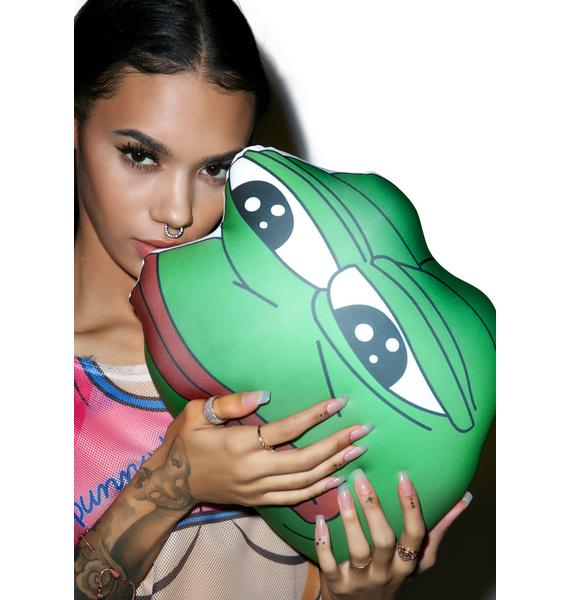 O Mighty Rare Pepe Pillow