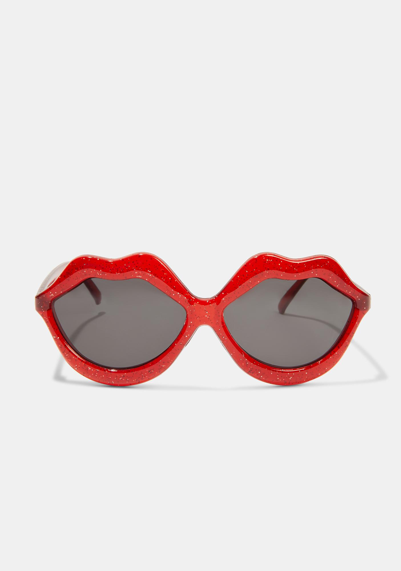 Glitter Pout Sunglasses