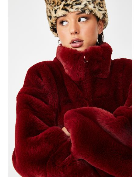 Xander Faux Fur Jacket