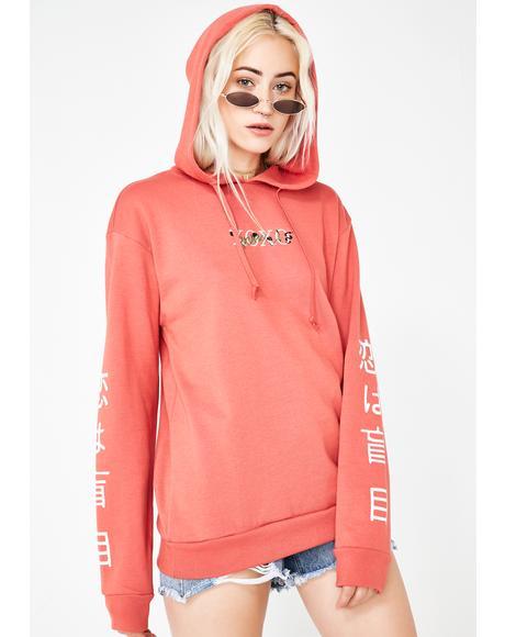 XOXO Oversized Hoodie