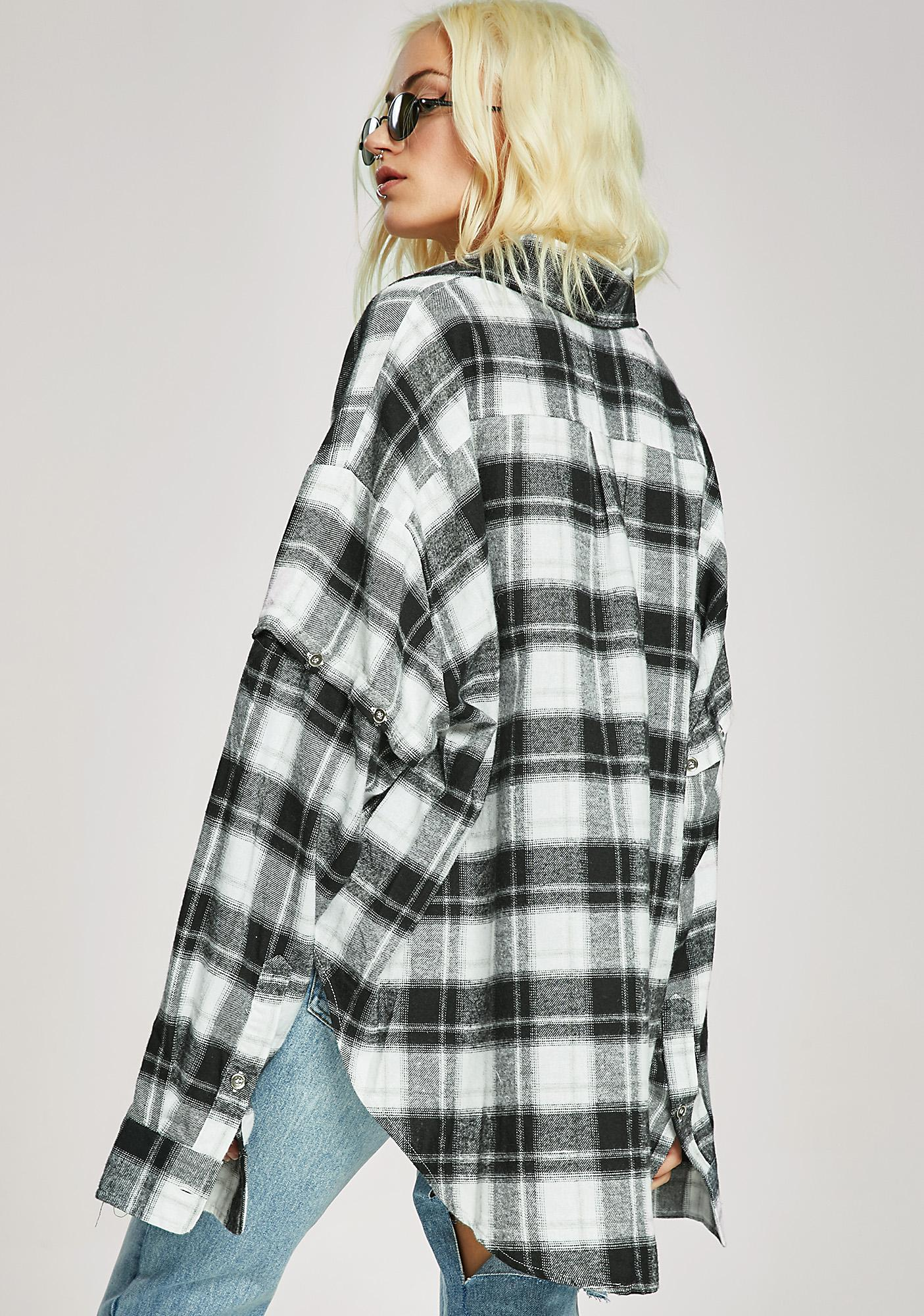 Geeks N' Freaks Flannel Shirt