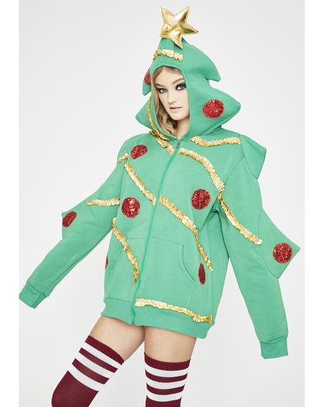 Christmas Tree 3D Hoodie