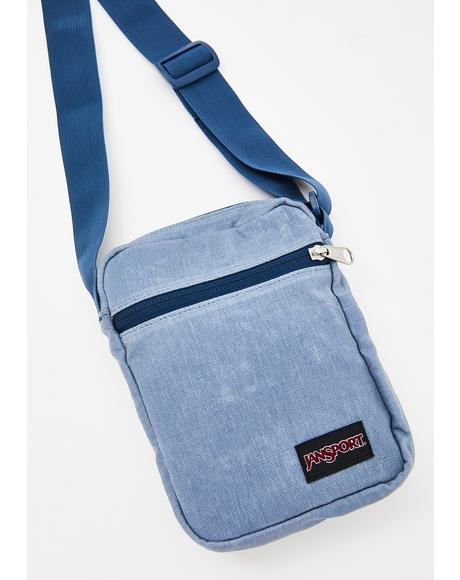 Grey State Weekender Crossbody Bag