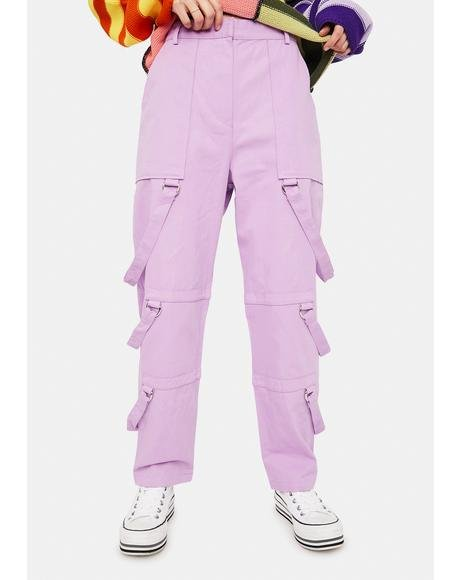 Theory Strappy Cargo Pants